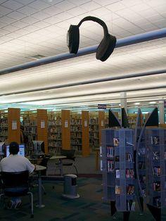 Audiobook Display In Libraries