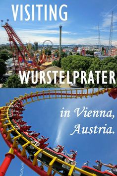 A day in the Wurstelprater amusement park: what we rode, how much it cost, and what we thought about it. Top Europe Destinations, Travel Guides, Travel Tips, Travel Articles, Austria Travel, Roadtrip, Travel Information, Culture Travel, Vienna Austria