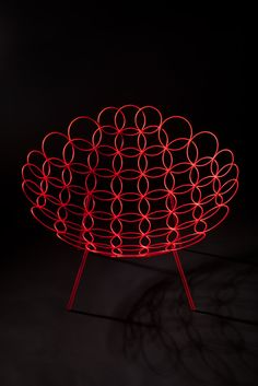 Jan and Henry   Circle armchair for Cappellini Next