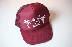 Palm Tree Trucker from ascot   hart