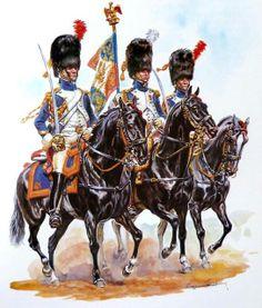 FRANCE - Horse Grenadiers.