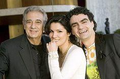 Plácido Domingo, Anna Netrebko, and Rolando Villazón
