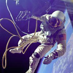 Pre-Apollo June, 1965: Ed White takes the first U.S spacewalk on Gemini 4, Gear Patrol