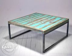 industrial coffee table Interior Inspiration, Design Inspiration, Reclaimed Furniture, Household, Loft, Living Room, Retro, Antiques, Table