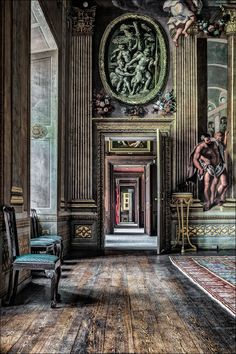 Burghley House - The South Corridor