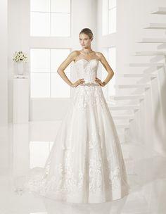 617d88380 9 mejores imágenes de Vestidos de novia por Rosa Clará