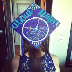 Graduation Cap Decoration - This is awesome!! lol band show