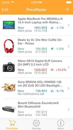 amazon price tracker app iphone