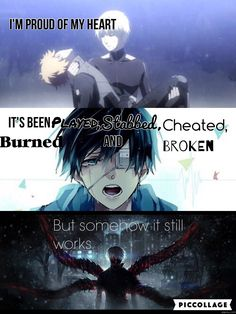 Kaneki and hide Me Anime, Dark Anime, Anime Life, Anime Manga, Sad Anime Quotes, Manga Quotes, Anime Quotes About Love, Citation Style, Tokyo Ghoul Quotes