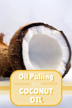 Interested in learning more about oil pulling? Find out why I love oil pulling with coconut oil and learn all the tips and tricks! Beauty Uses Of Coconut Oil, Coconut Oil For Teeth, Coconut Oil Pulling, Coconut Oil Uses, Benefits Of Coconut Oil, Coconut Desserts, Crafts For Teens To Make, Vegan, Health And Beauty