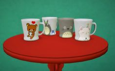 Budgie2budgie: Cups • Sims 4 Downloads