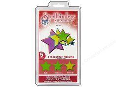 Scrapbooking & Paper Crafts: Spellbinders Nestabilities Die Stars Five $19