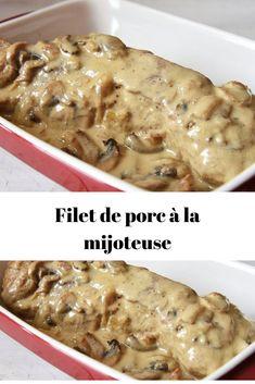 Crock Pot Food, Crock Pot Slow Cooker, Slow Cooker Recipes, Crockpot Recipes, Cooking Recipes, Multicooker, Pork Recipes, Food Videos, Meal Prep