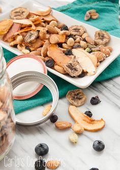 mix de frutas secas e desidratadas