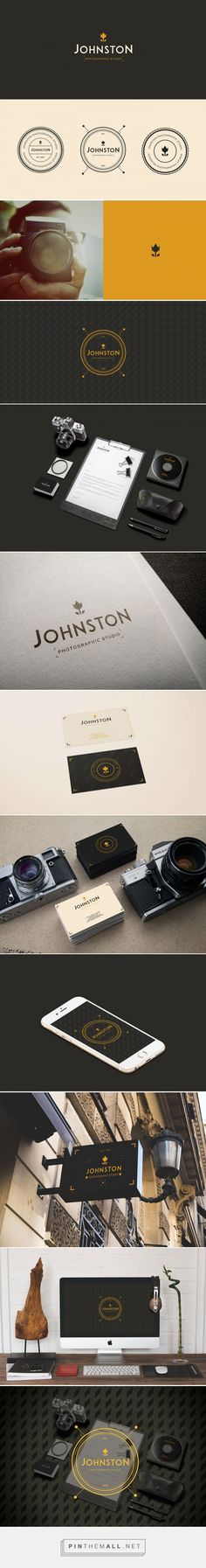 Johnston - Photographic Studio - Brand Identity by Martín Liveratore