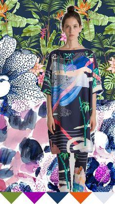 color | lush tropics