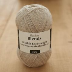 St. Kilda Laceweight Soay/Boreray/Shetland Blend Worsted 2-ply knitting yarn $16.50