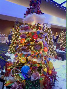Candy Christmas tree!