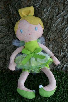 TINKERBELL Handmade Bit of Whimsy Mae Doll - etsy