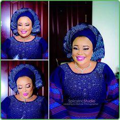 beautiful nigerianmakeupartist yorubabride asooke nigerianwedding