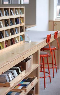 Heath San Francisco Showroom by Heath Ceramics , via Behance