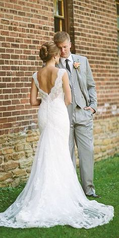 Bridal Inspiration: 27 Rustic Wedding Dresses ❤ See more: http://www.weddingforward.com/rustic-wedding-dresses/ #weddings