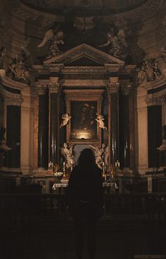 Do we truly realize the powerful & awesome Presence of our Lord in the tabernacle or in the most holy Eucharist exposed? We have much to gain even if we just sat in the pew and quietly gazed at Him! Do you know that people who are possessed are greatly helped by just sittting in Church. This has been proven. - So please try this. Bask in the power of His loving power. Silence is acceptable. Let Him speak in your heart. Gaze at Him and your love for Him wlll grow!