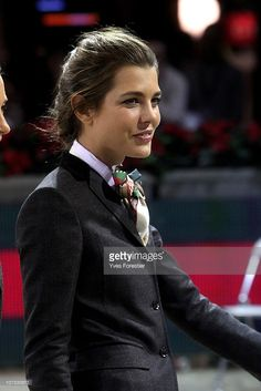 Charlotte Casiraghi attends the International Gucci Masters Competition at Paris Nord Villepinte on December 4, 2010 in Paris, France.