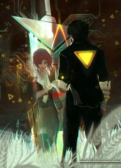 Transistor Fan Art - Created by Shalizeh You can find more of the artist's work on Tumblr!