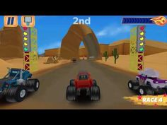 Blaze and the Monster Machines Velocityville - Kids Games To Play