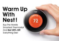 Nest Learning Thermostat by Nest | Fab.com