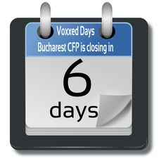 Voxxed Bucharest 2016 Call for Papers Pl Sql, Platform As A Service, Modern Tools, 19 Days, Business Intelligence, Bucharest, Cloud Computing, Big Data, Software Development