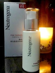 Oil-free, alcohol-free, and fragrance-free, the Neutrogena Fine Fairness Brightening Serum is awesome if you have sensitive skin or are prone to breakouts Image Source: Neutrogena Oily Skin Remedy, Dry Skin Remedies, Oily Skin Care, Acne Serum, Skin Serum, Oily Skin Treatment, Skin Treatments, Anti Aging, Best Face Serum