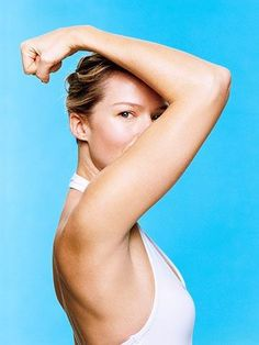 These biceps and triceps exercises will help you get rid of arm fat and tone sleek muscles.