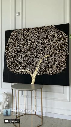 Dot Art Painting, Galaxy Painting, Modern Art Paintings, Expo, Gold Art, Crafts, Ideas, Palette Knife Painting, Diy Painting