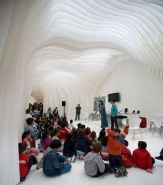 [a barriga de um arquitecto]: Olga Sanina + Marcelo Dantas: Pavilhão da Feira do Livro de Madrid