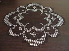 gümüş renkli tel kırma çiçek modeli