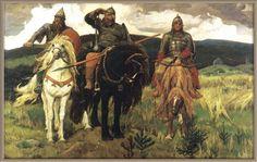 Виктор Васнецов. Богатыри (1892)