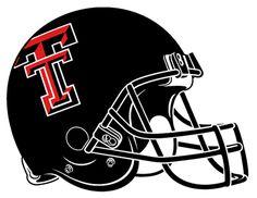Texas Tech Red Raiders Helmet Logo - NCAA Division I (s-t) (NCAA ...