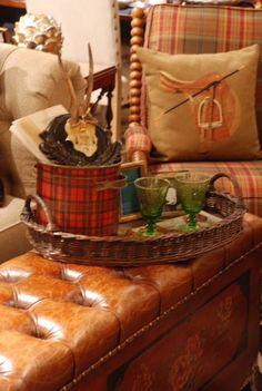 Belas Ideias de decoração no estilo equestre.