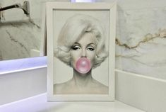 Ateliê Laço Rosa Manicure Diy, Retro, Amanda, Frame, Home Decor, Acrylic Toes, Dressing Table Decor, White Frames, Pink Bows