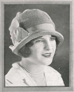 1928 The Helen Cloche Hat Vintage Crochet Pattern  pdf  Digital Pattern. $3.00, via Etsy.