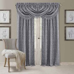 FREE SHIPPING AVAILABLE! Buy Elrene Antonia Blackout Back-Tab Curtain Panel at JCPenney.com today and enjoy great savings. Available Online Only!