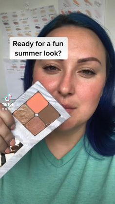 Maskcara Makeup, Maskcara Beauty, Makeup Tips, Summer Eyeshadow, Eyeshadow Looks, Eyeshadow Palette, Makeup For Green Eyes, Blue Eye Makeup, Make Up For Dummies