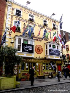 Oliver St. John Gogartys, in the heart of Temple Bar - Dublin, Ireland. I LOVE this place!!