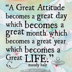 Good attitude quote