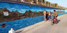 Ένας πανέμορφος πίνακας ζωγραφικής στο δρόμο του Καραβομύλου • MyLamia.com