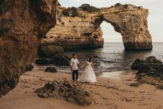 D + S  trash he dress photoshoot in this stunning and magical location . . #weddingphotography #destinationwedding #lisbonweddingphotographer #algarveweddingphotographer #luisjorgephotography #portugalweddingphotographer  #Beachwedding #thisisreportage #fearlessbride #engagementphotography #algarvebeachwedding #trashthedress Engagement Photography, Wedding Photography, Algarve, Grand Canyon, Destination Wedding, Photoshoot, Bride, Instagram Posts, Dress