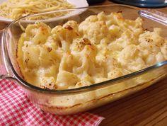 Cauliflower cheese, Atkins diet friendly with no flour!
