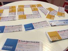 Nos packages Oracle OpenWorld 2014 sont déjà là